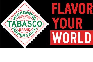 Tabasco Flavor Your World Logo