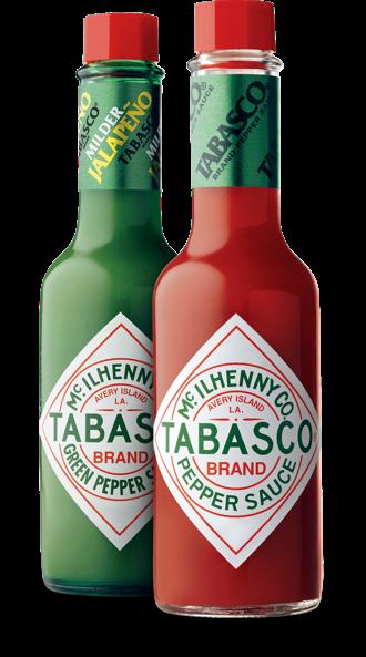TABASCO® Pepper Sauce & TABASCO® Green Jalapeno Sauce