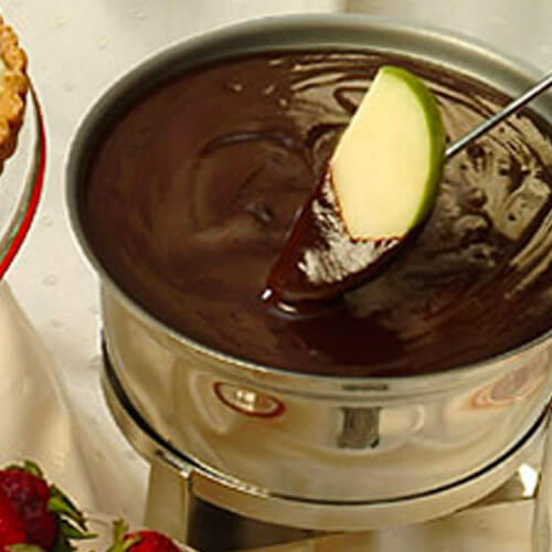 Fiery Chocolate Fondue