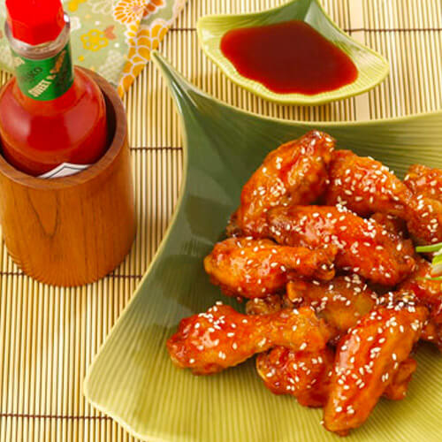 Chef Robert McGrath's Sweet and Spicy Chicken Wings with Soy