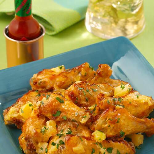 Chef Robert McGrath's Pineapple-Habanero Chicken Wings
