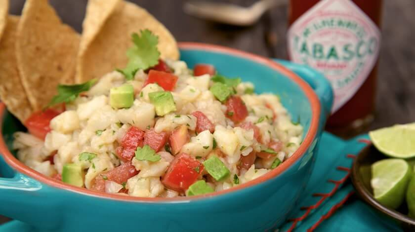 TABASCO® & Lime Ceviche