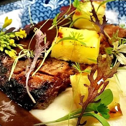 Stout TABASCO® Chipotle Glazed Pork Jowl