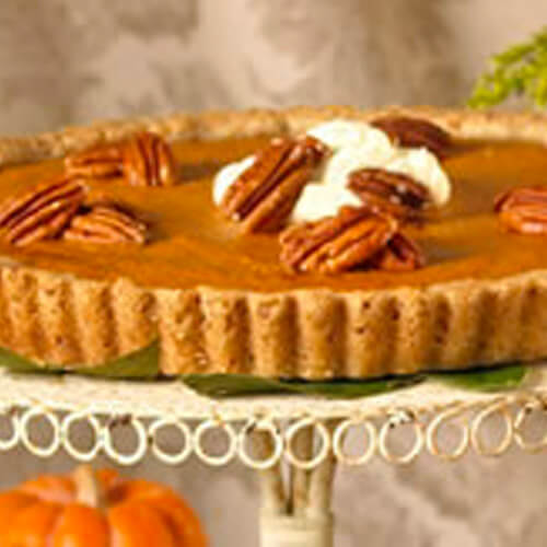 Spicy Pumpkin Tart