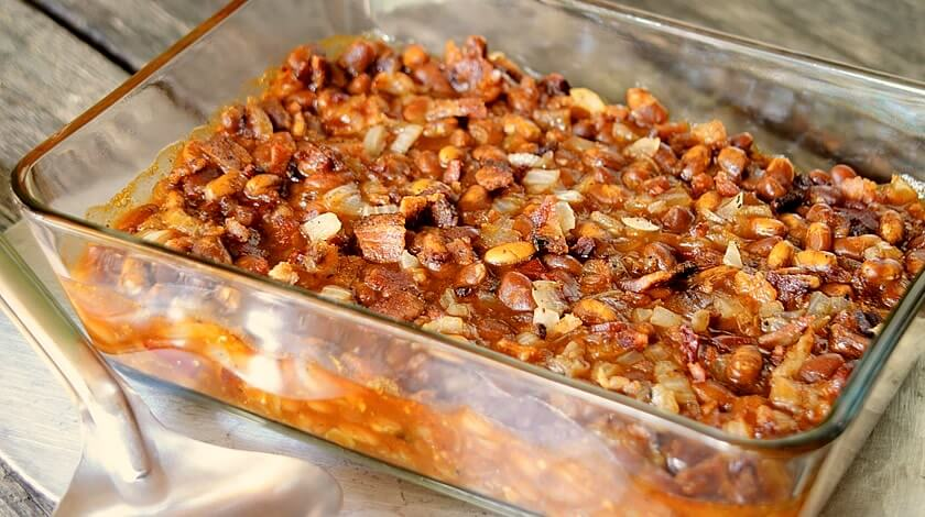 Chipotle Bacon Baked Beans