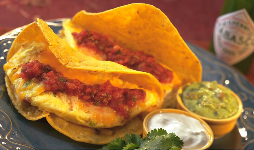 Santa Fe Western Omelet Tacos