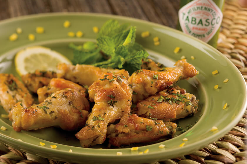 Spicy Thai Mint Wings
