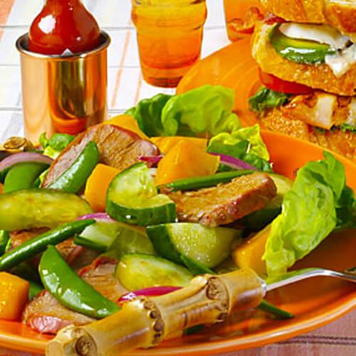 Chipotle Grilled Pork & Mango Salad