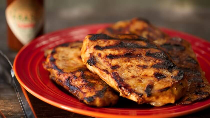 Grilled Chipotle and Cola BBQ Chicken