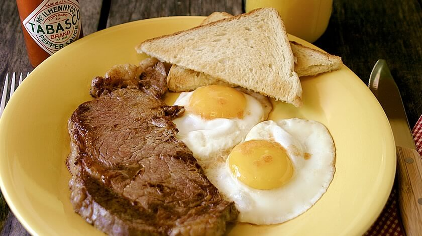 Classic Steak & Eggs