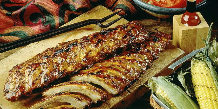 Texas-Style Baby Back Ribs