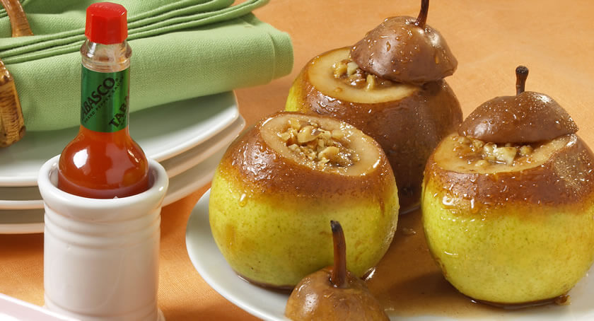 Fire Roasted Stuffed Pears