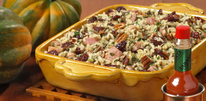 Wild Rice and Pecan Stuffing