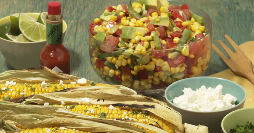 Spicy Fresh Corn Salad
