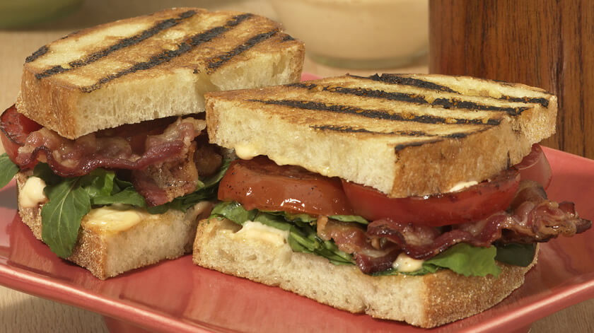 Roasted Blt With Chipotle Mayo