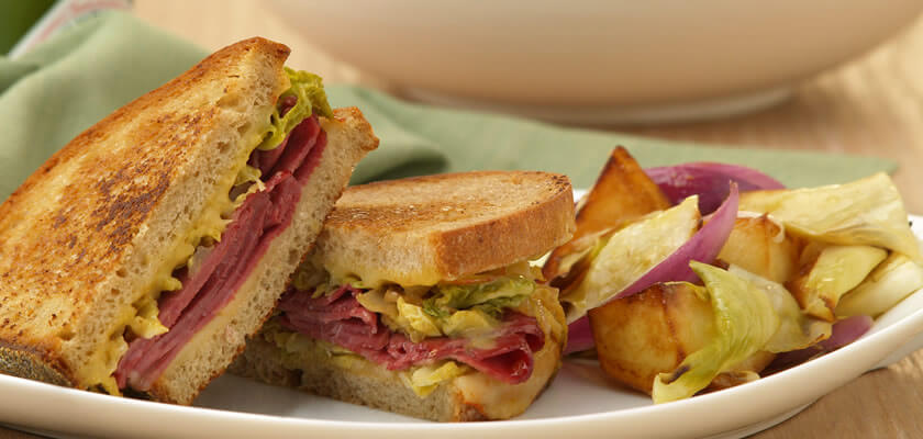 Spicy Grilled Reuben