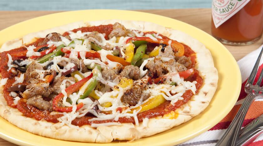 Super Sausage Personal Pizzas