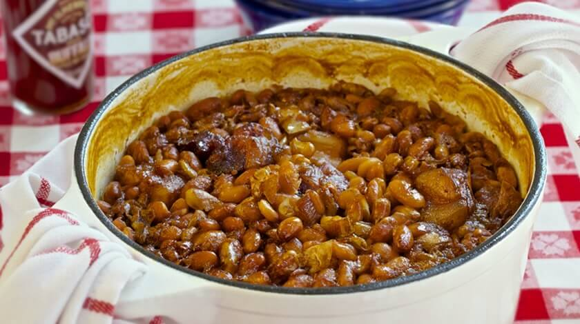Classic Buffalo Baked Beans