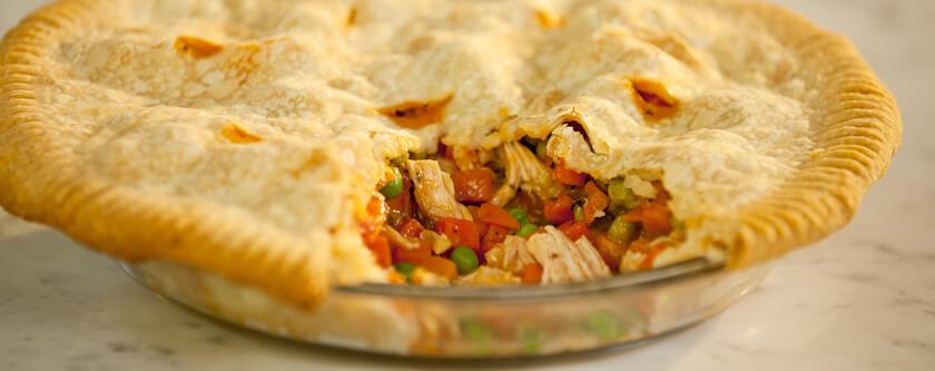 Easy Creamy Chicken Pot Pie