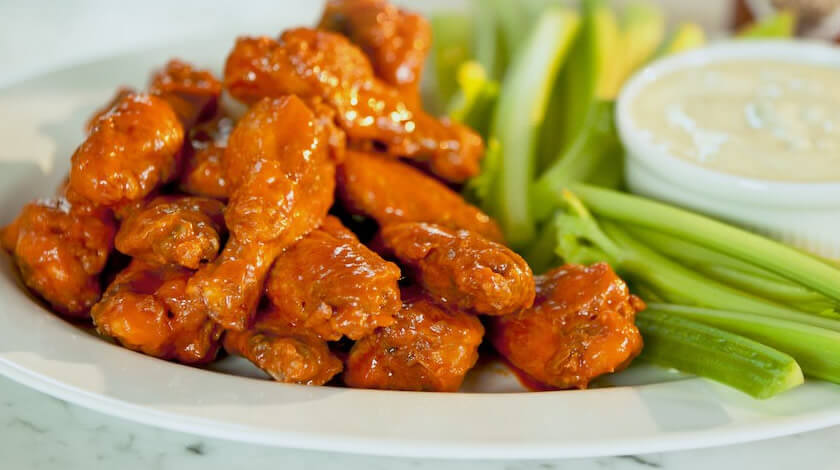 Buffalo Chicken Wings from Scratch