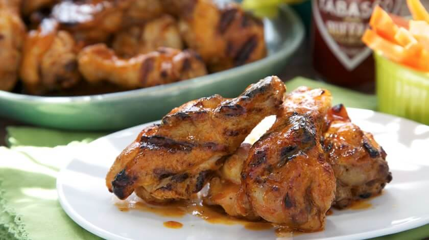 Easy Grilled Buffalo Wings