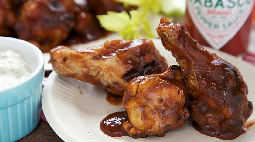 Fast & Spicy Grilled BBQ Wings