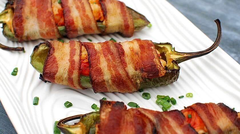 Lobster Bacon Jalapeño Poppers