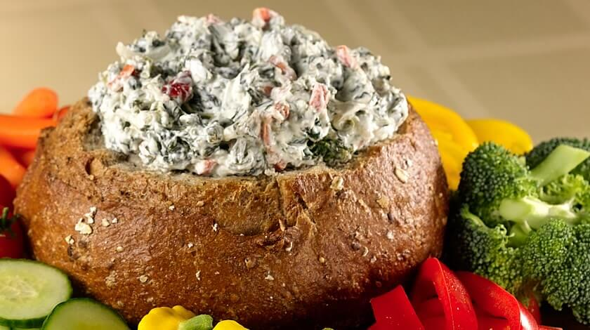 Creamy Spinach Dip With a Kick