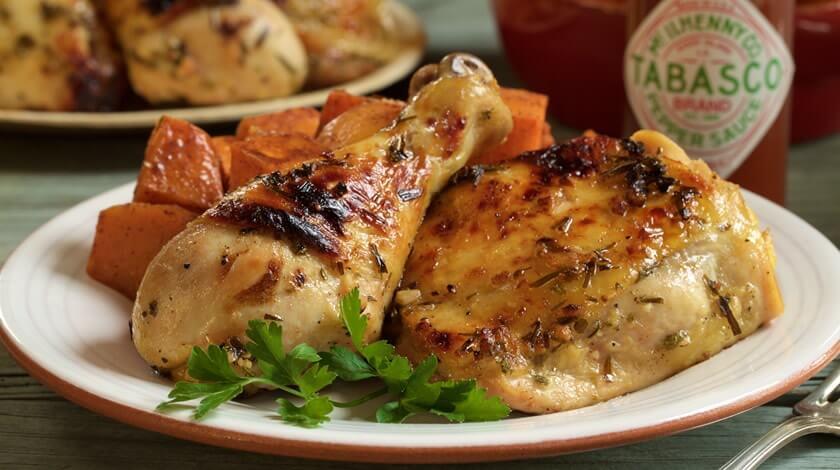 Garlic Marinated Chicken with Tarragon
