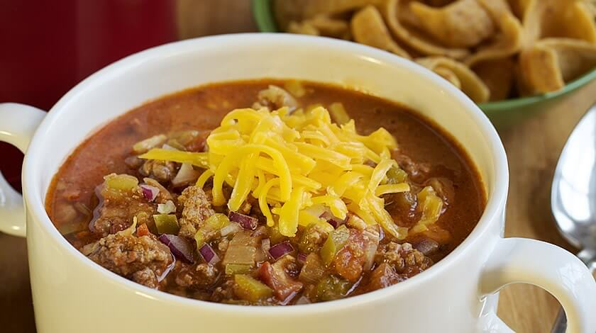 Smoky Beef and Bacon Chili