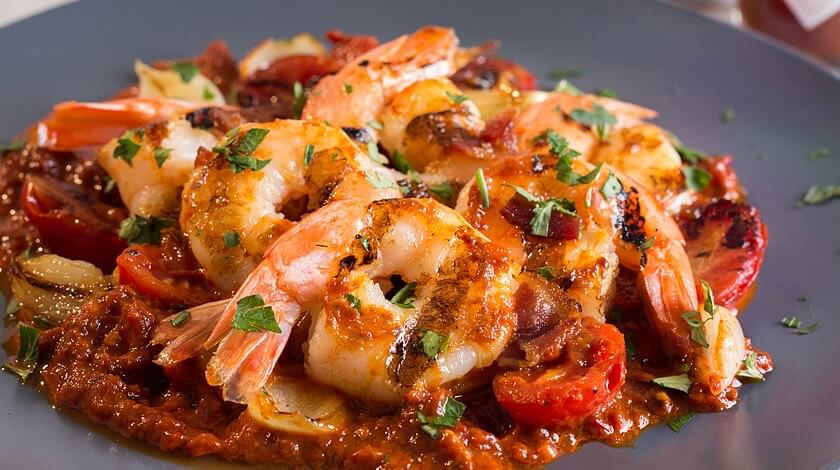 Chipotle Grilled Shrimp with Bacon