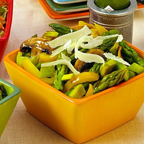 Spicy Asparagus Salad