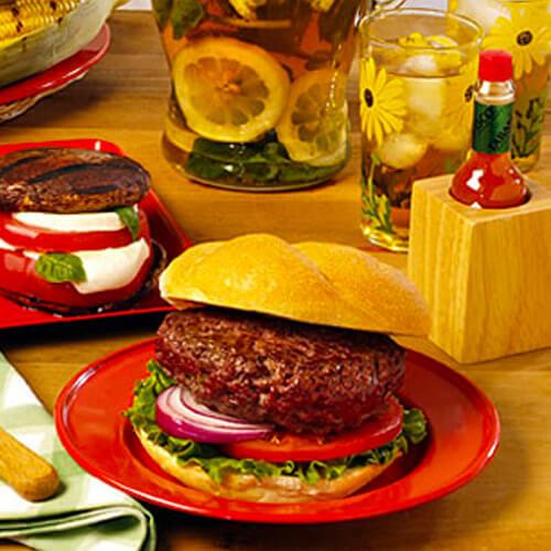Smoky Stuffed Burgers