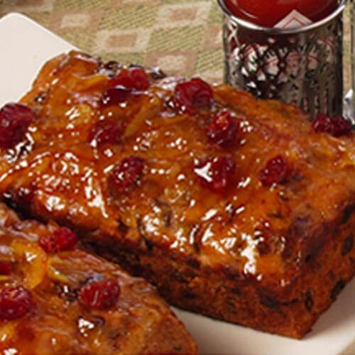 Spicy Fruitcake Loaves