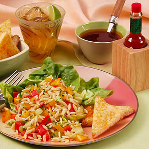 Spicy Gazpacho Pasta Salad