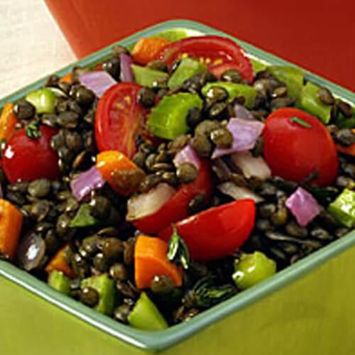 Lentil Confetti Salad