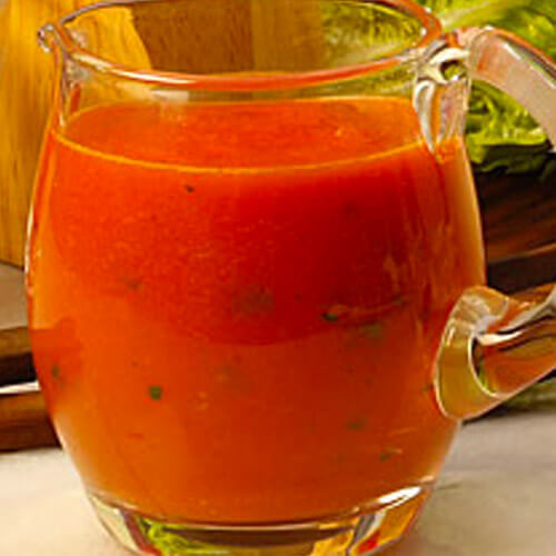 Robust Tomato-Basil Dressing