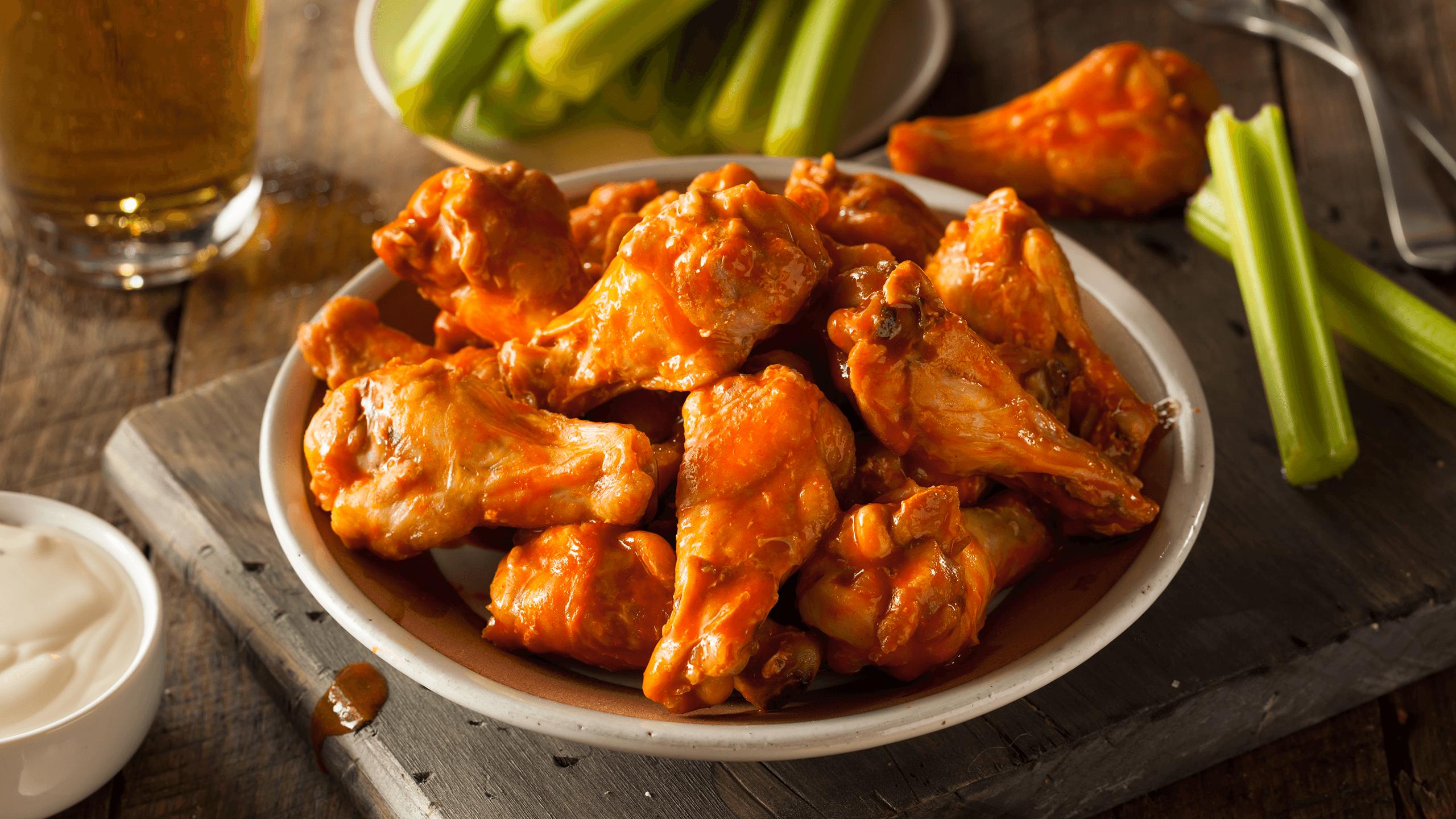 Buffalo Chicken Wings from Scratch