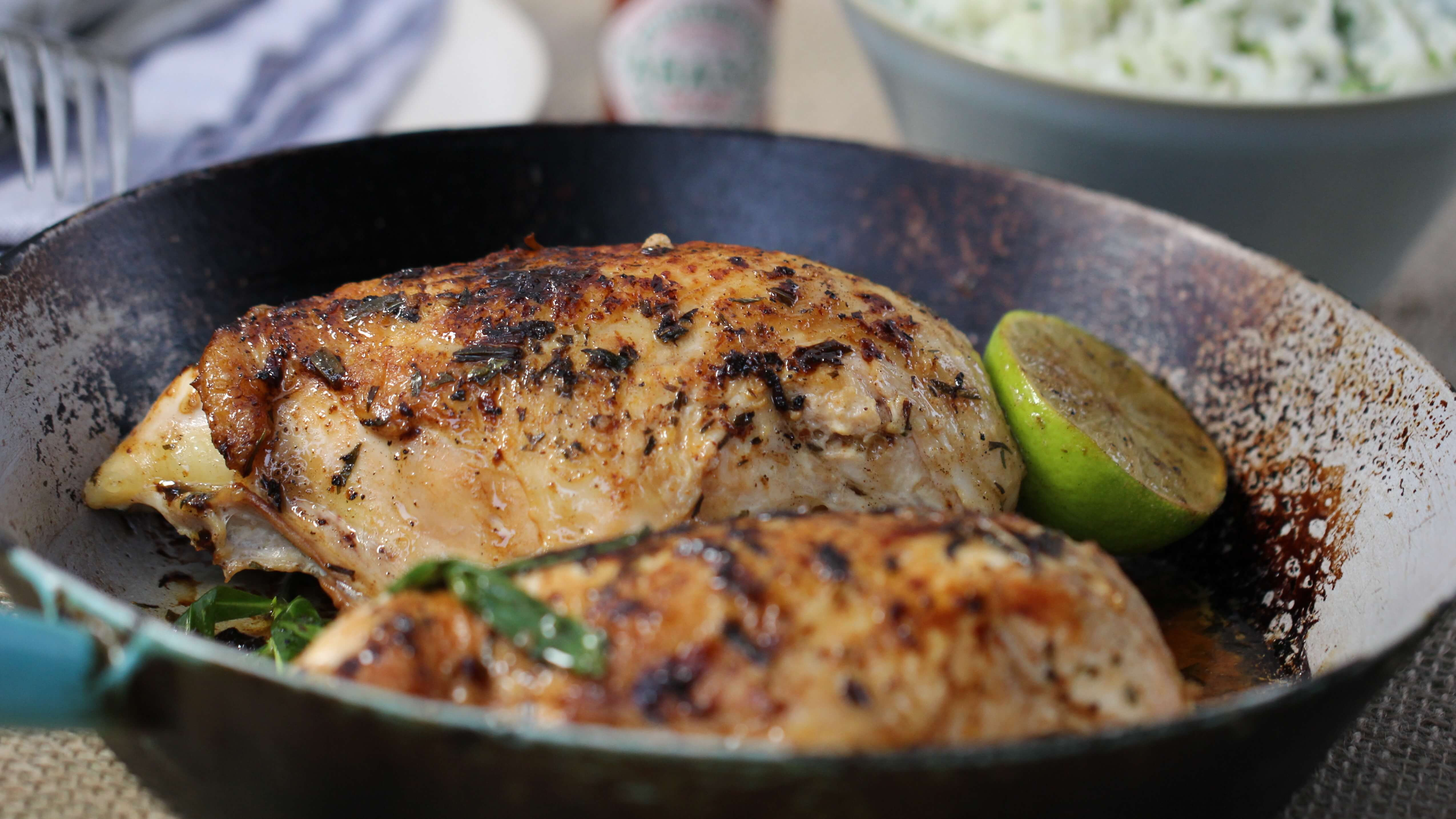 Lime Tarragon Chicken