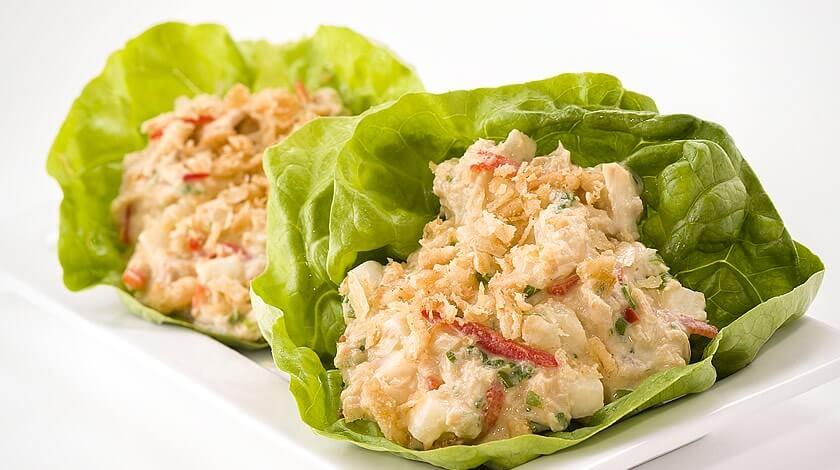Spicy Tuna Lettuce Wraps