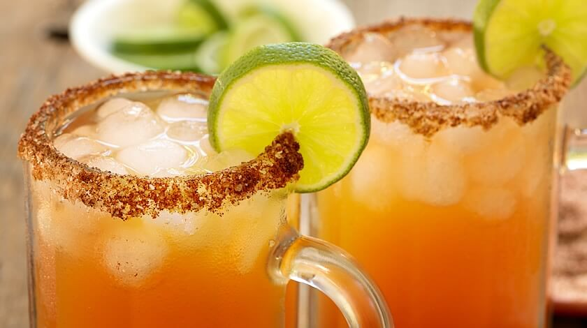 Spicy Bloody Mary Beers