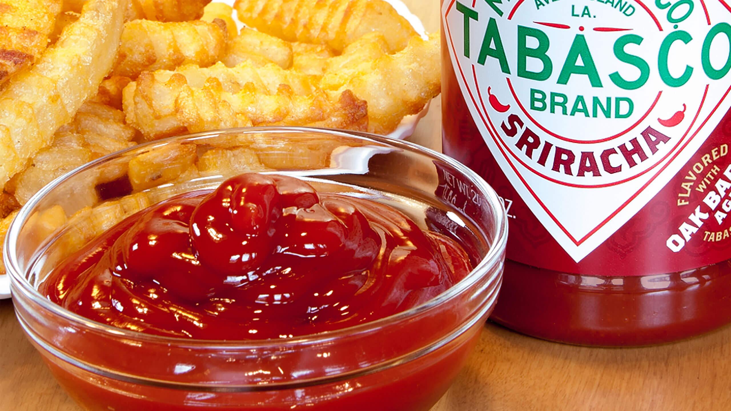1-Step Sriracha Ketchup