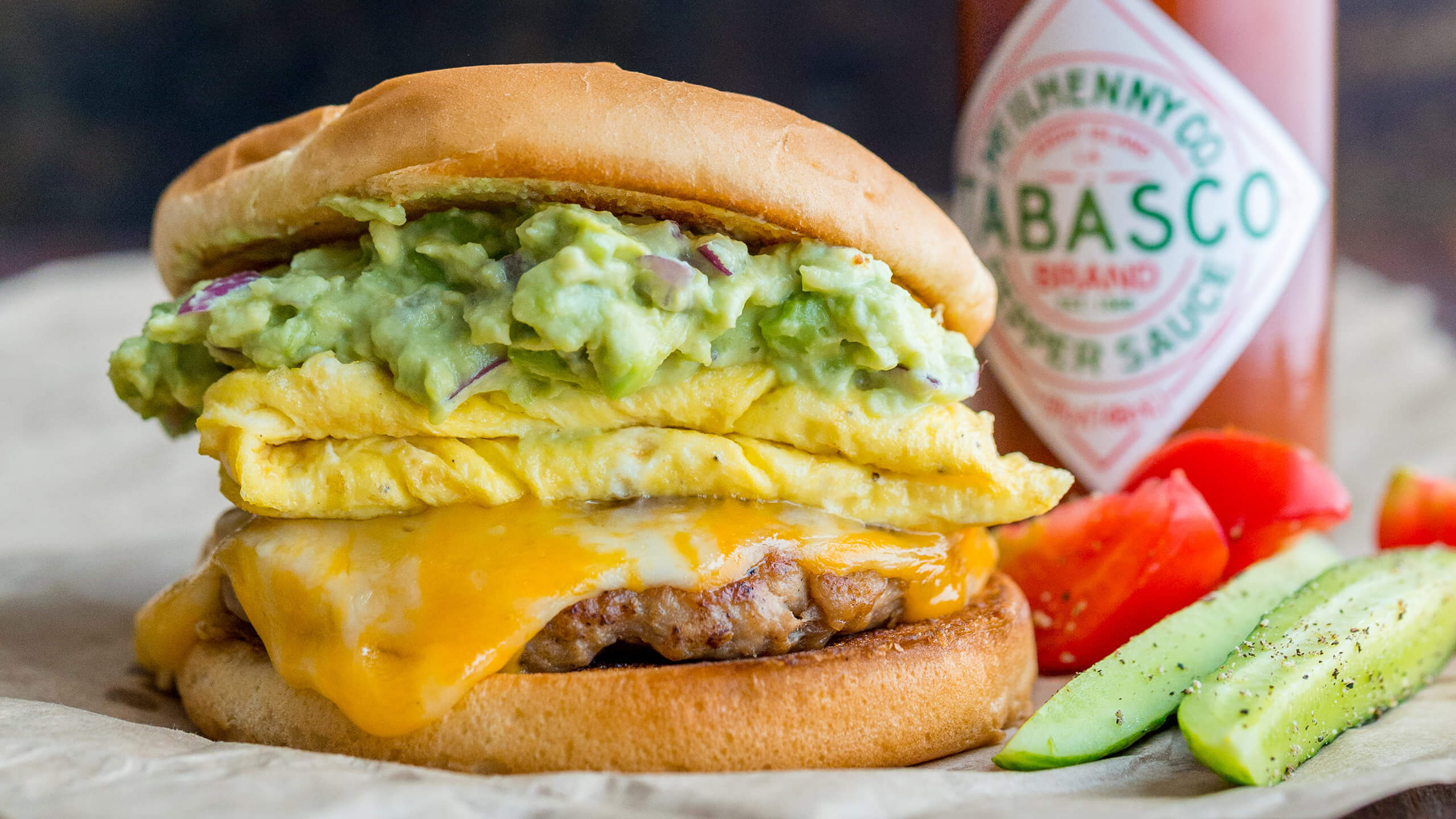 Guacamole Brunch Sandwich
