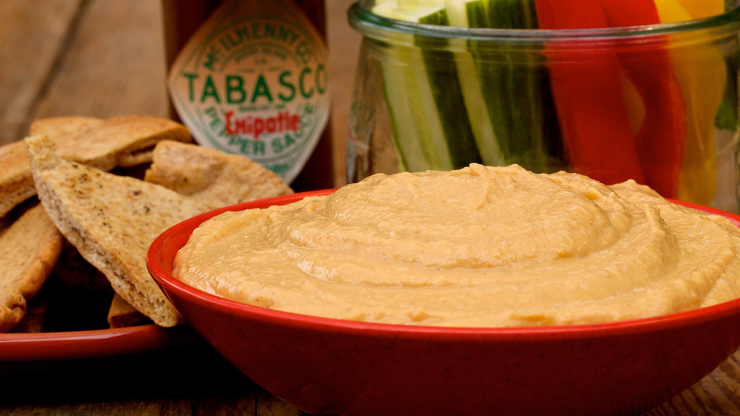 1-Step Chipotle Hummus