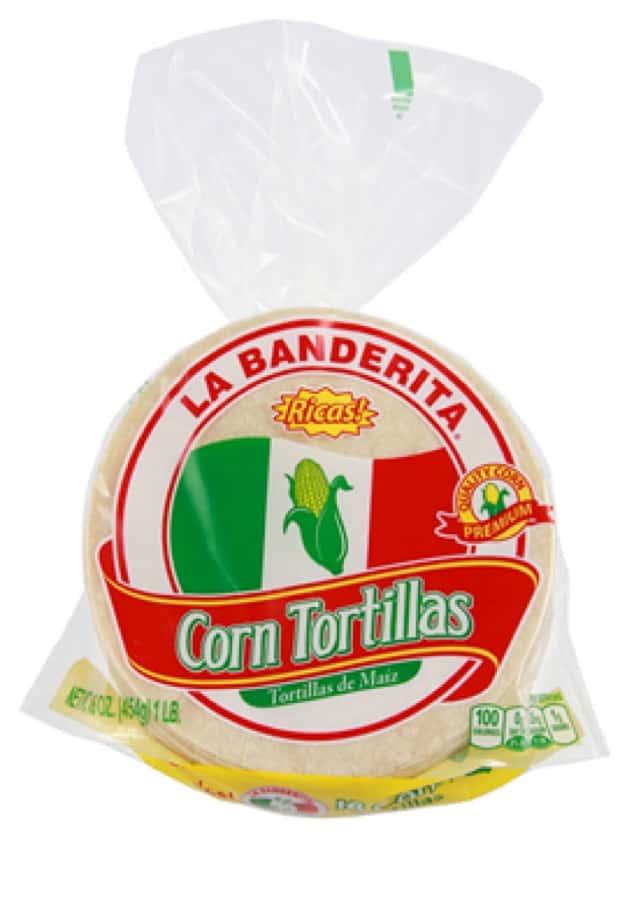 Recipe uses Original Red Sauce, La Banderita Flour Tortillas