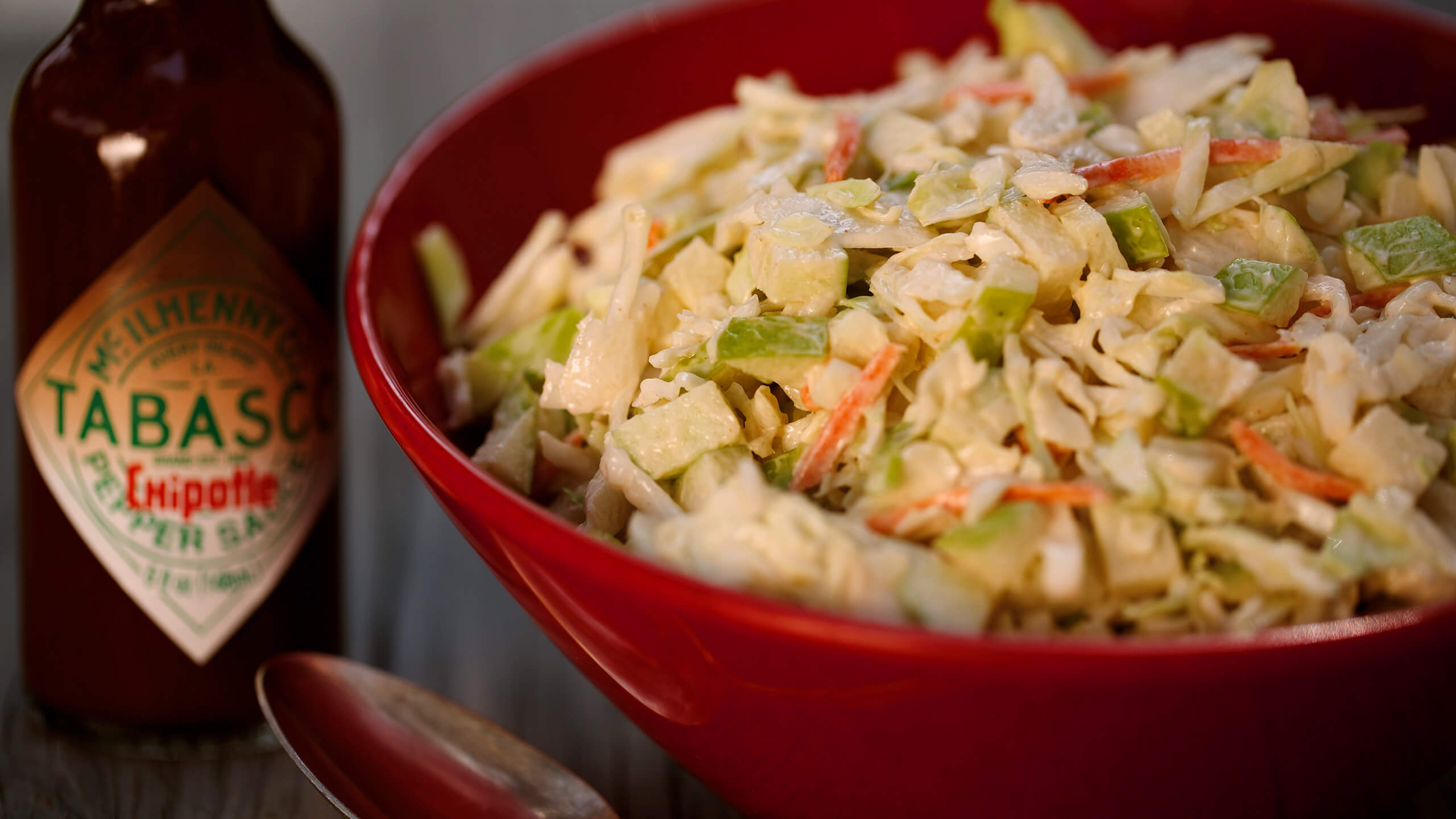 Chipotle Apple Coleslaw