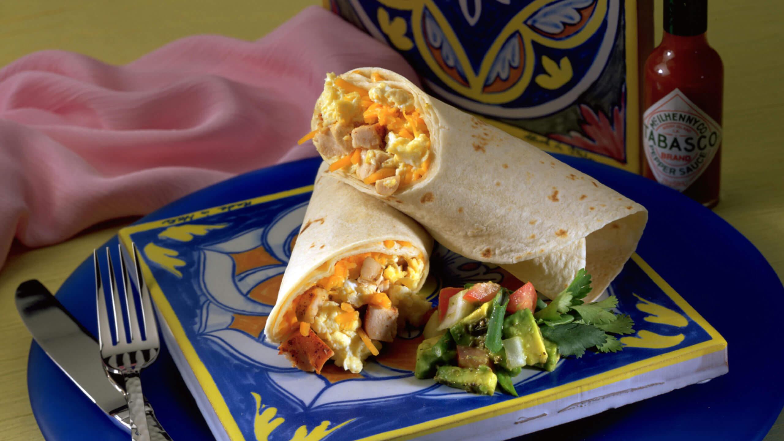 Baja Breakfast Wraps