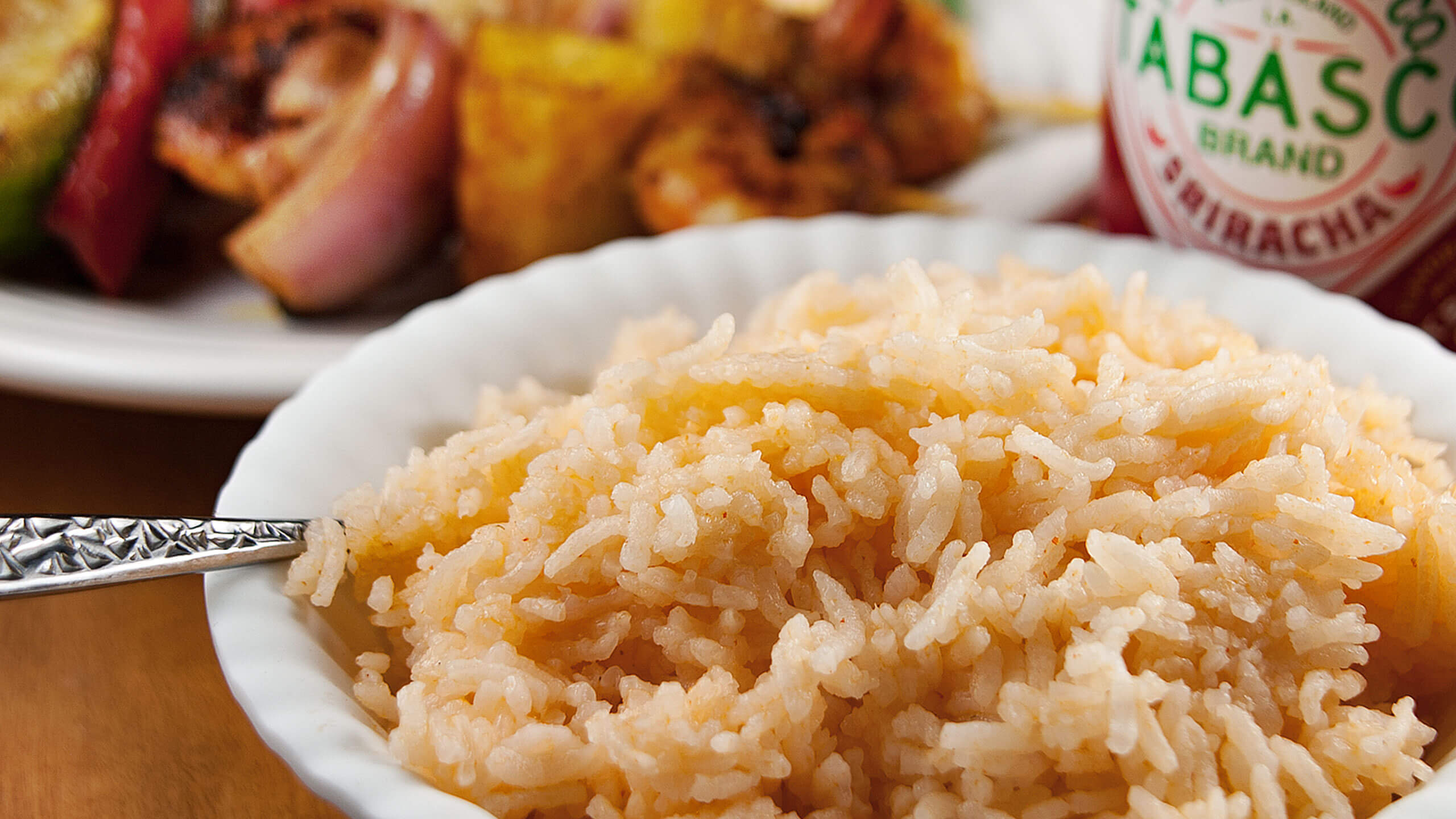 1-Step Sriracha Rice
