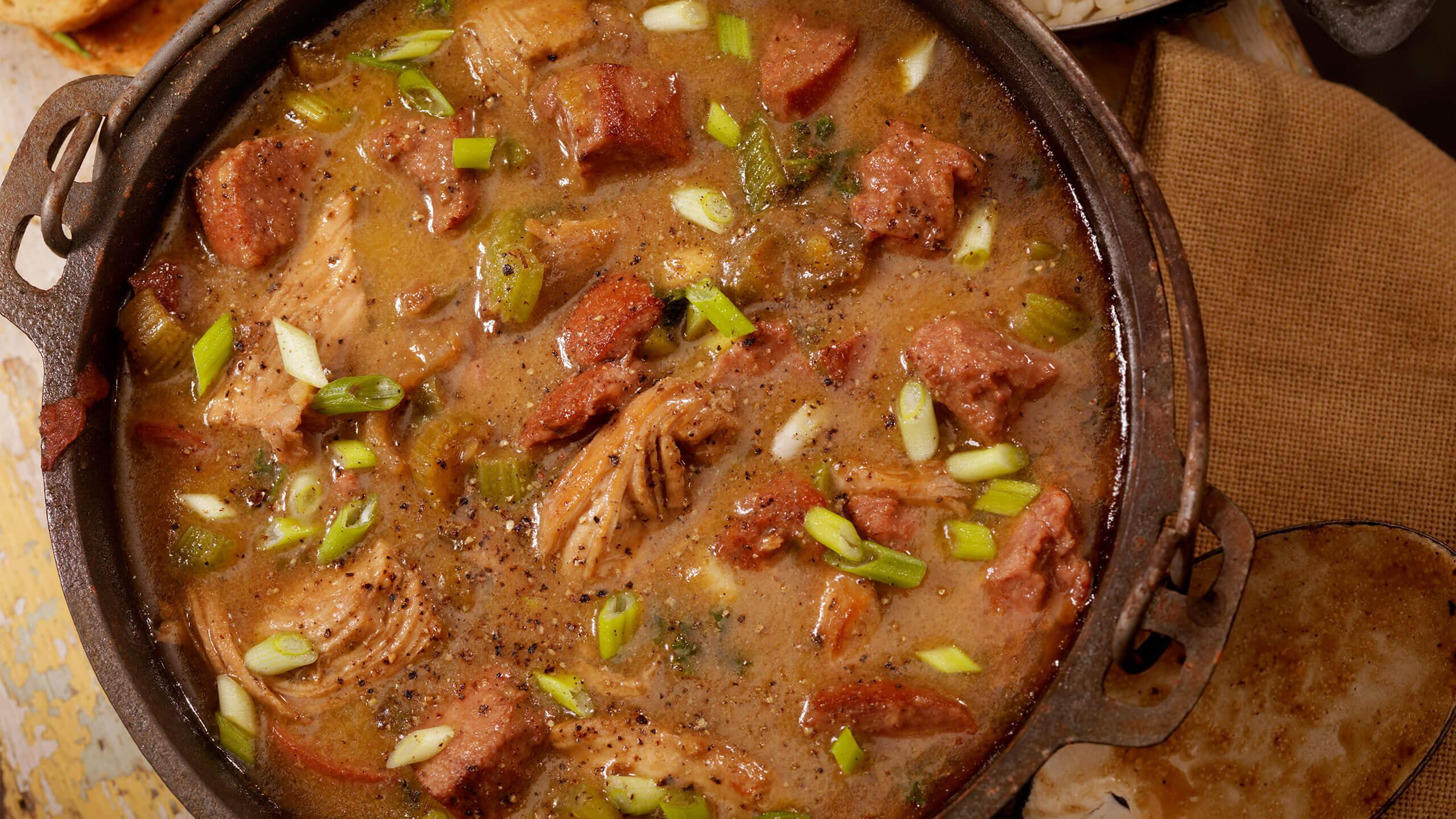 Eula Mae's Sausage and Shrimp Gumbo
