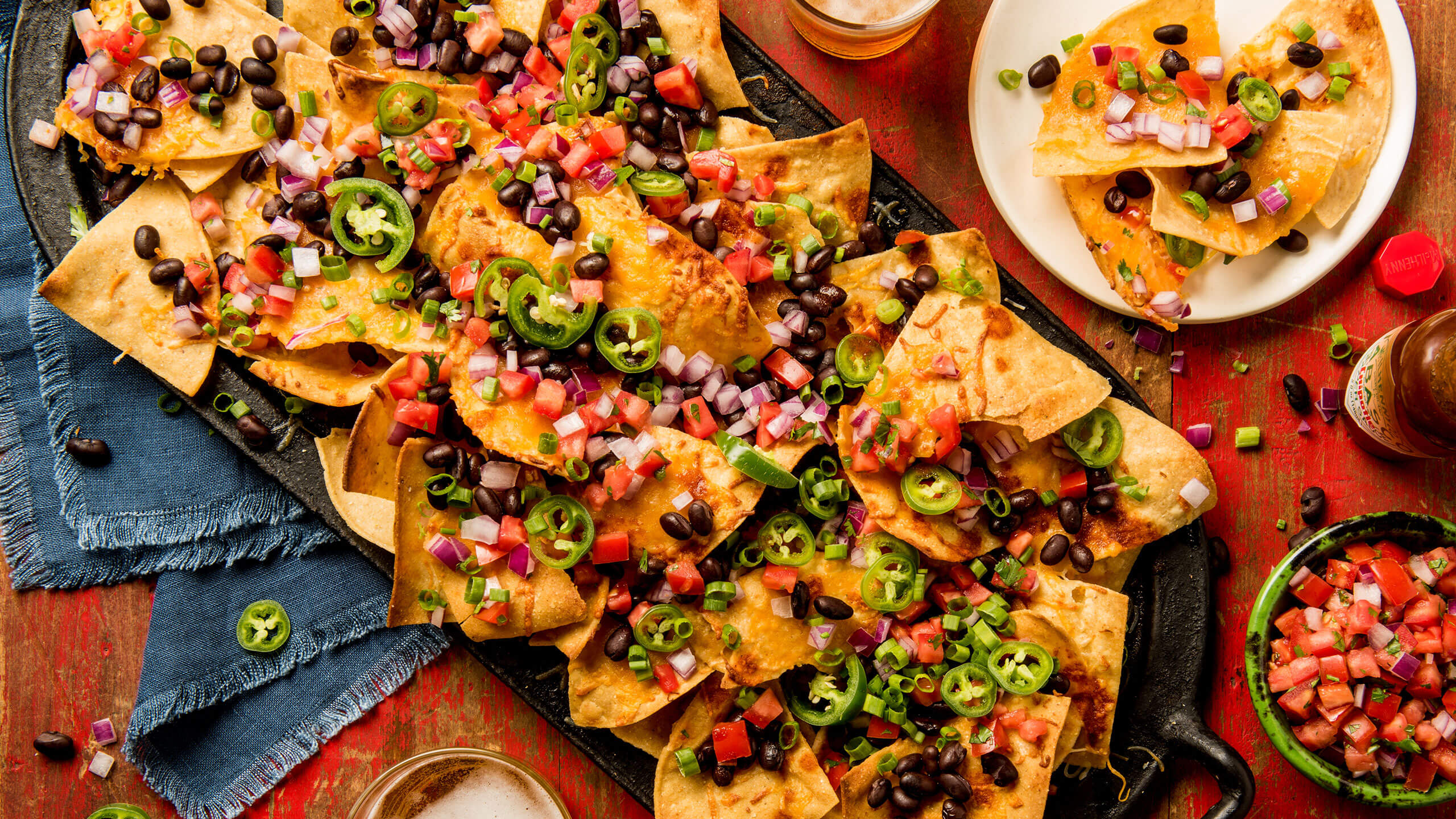 Cheesy Chipotle Nachos